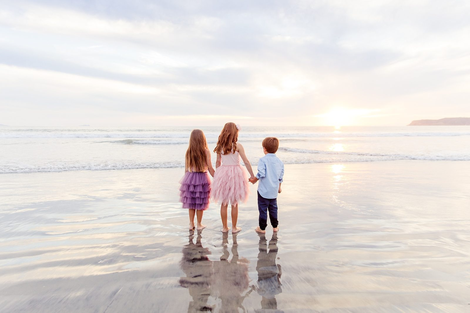 Siblings on the Beach | Hotel Del Coronado