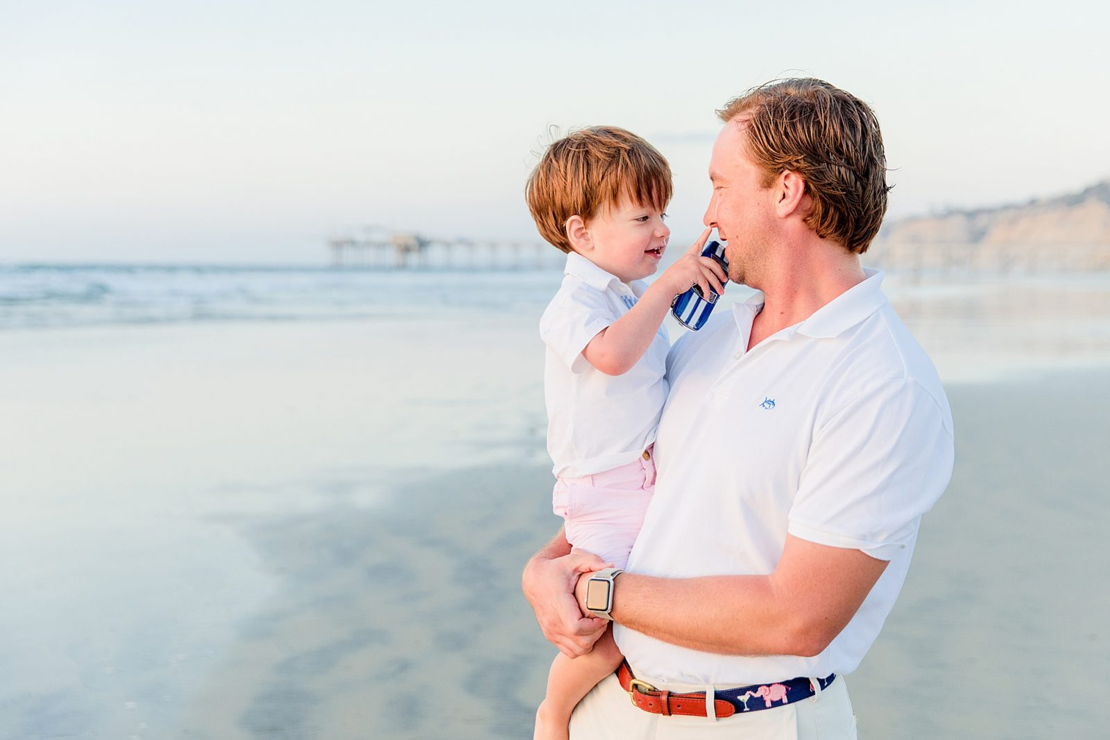 Father and Son | Family Photography San Diego