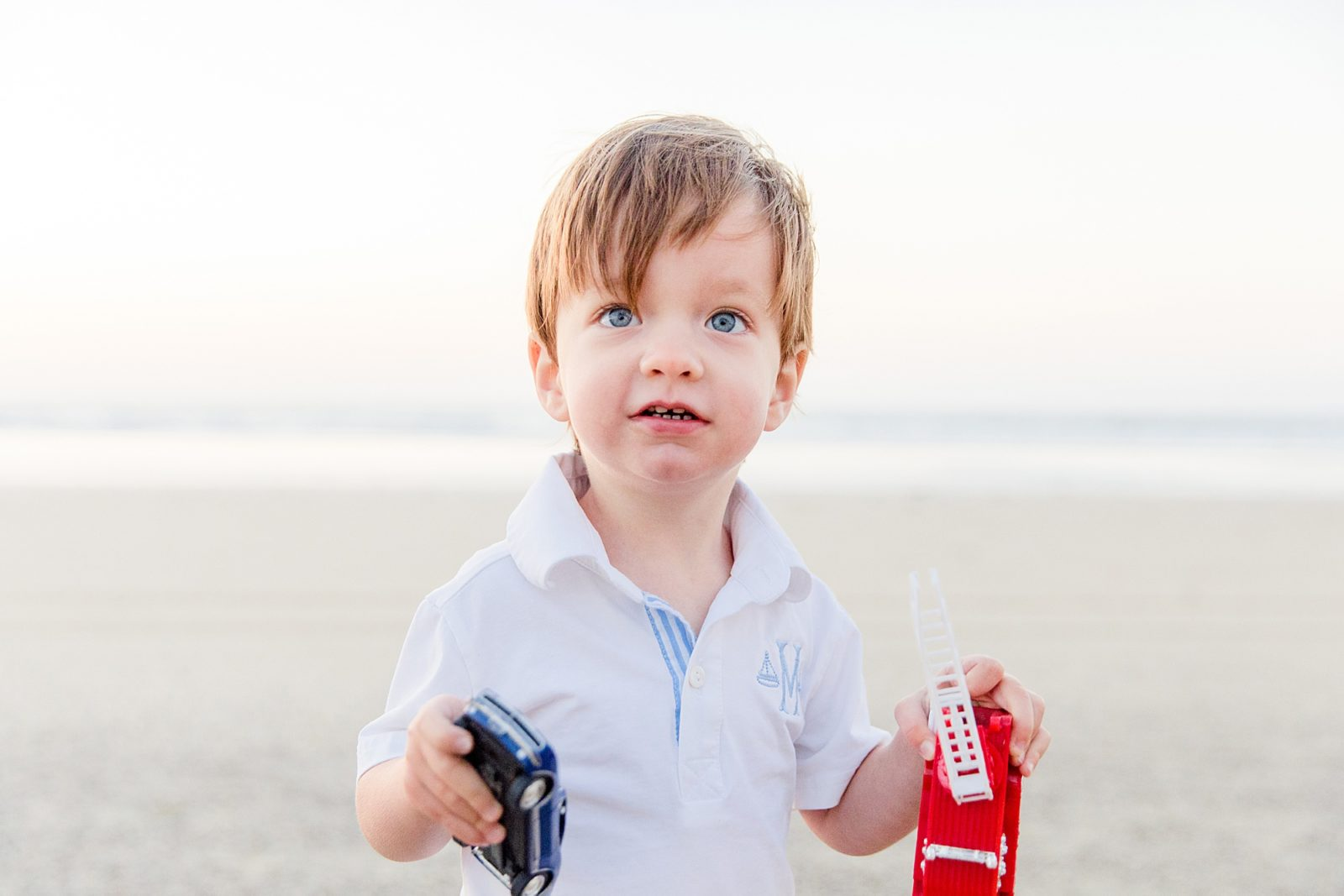 Little Boy with Toys | Family Photography San Diego