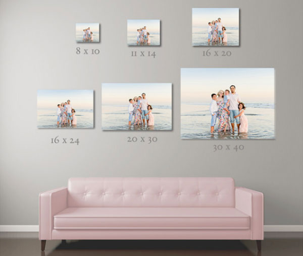 Wall Portraits by Amy Gray Photography | San Diego Beach Photography