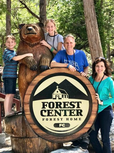 Forest Home Family Camp is one of our favorite family traditions.