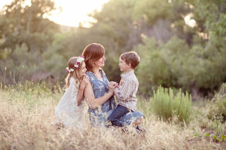 A favorite shot from when the kids were little.  So glad I got in front of the camera!