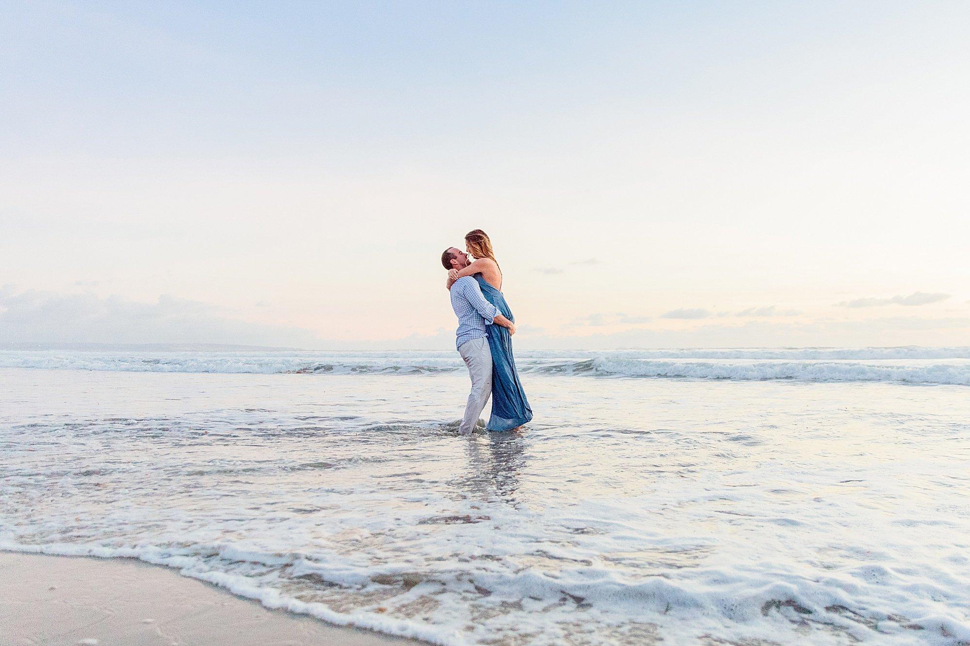 She Said Yes | Coronado Beach Photos