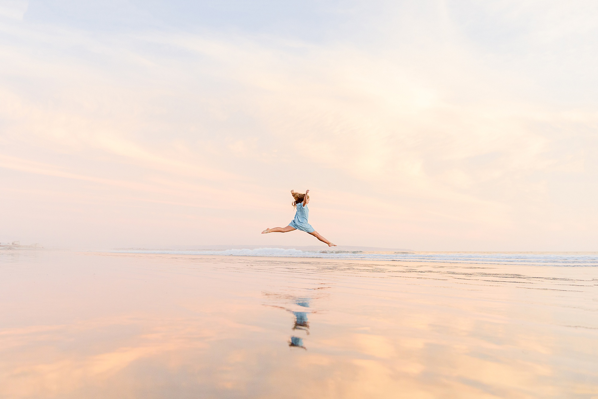 Dancing on the Beach   San Diego Beach Photography