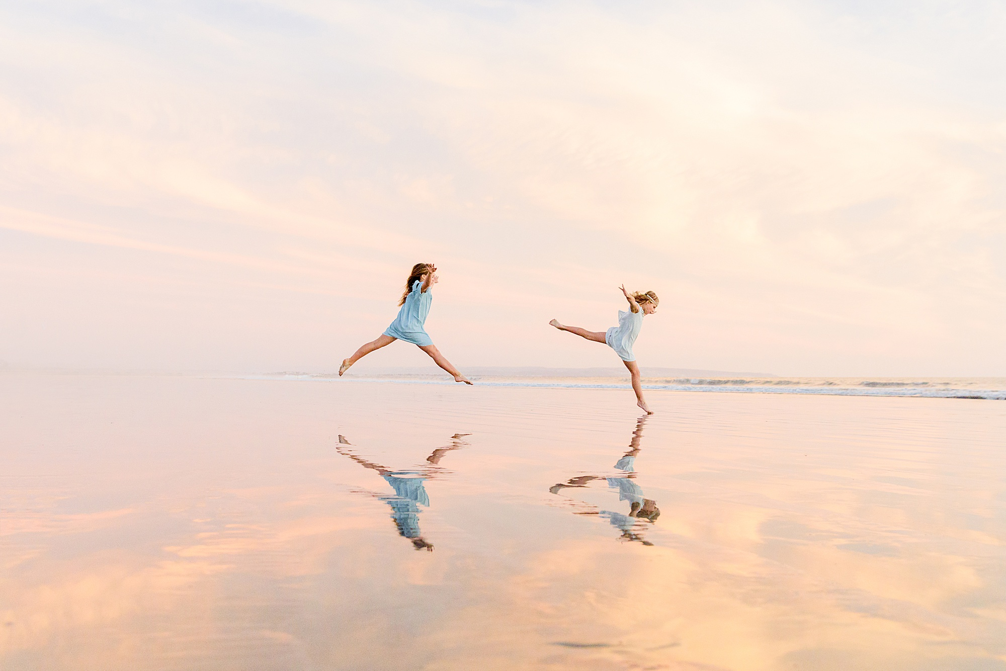Dancing on the Beach | San Diego Beach Photography