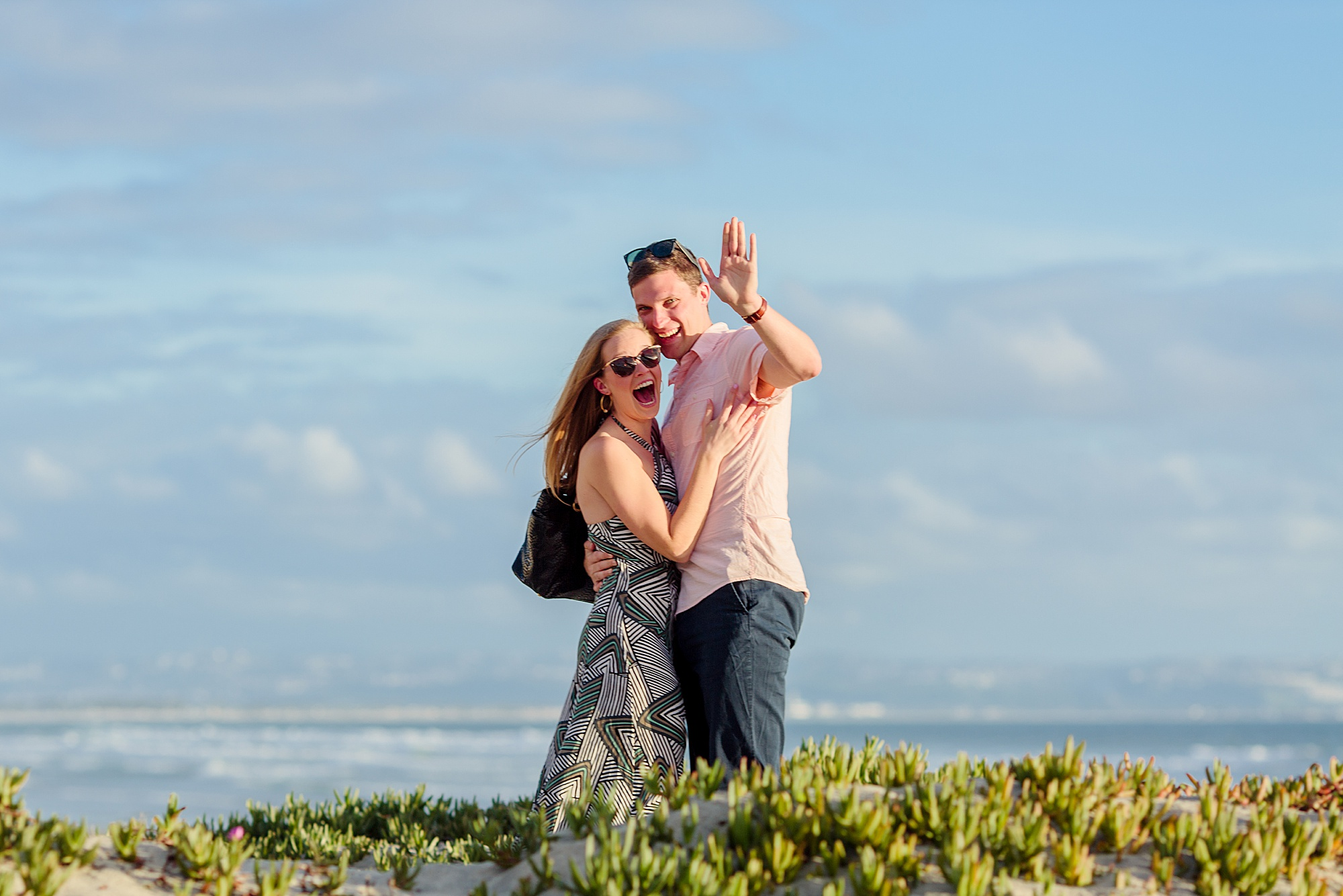 Proposal Photographer | San Diego Beach Photography