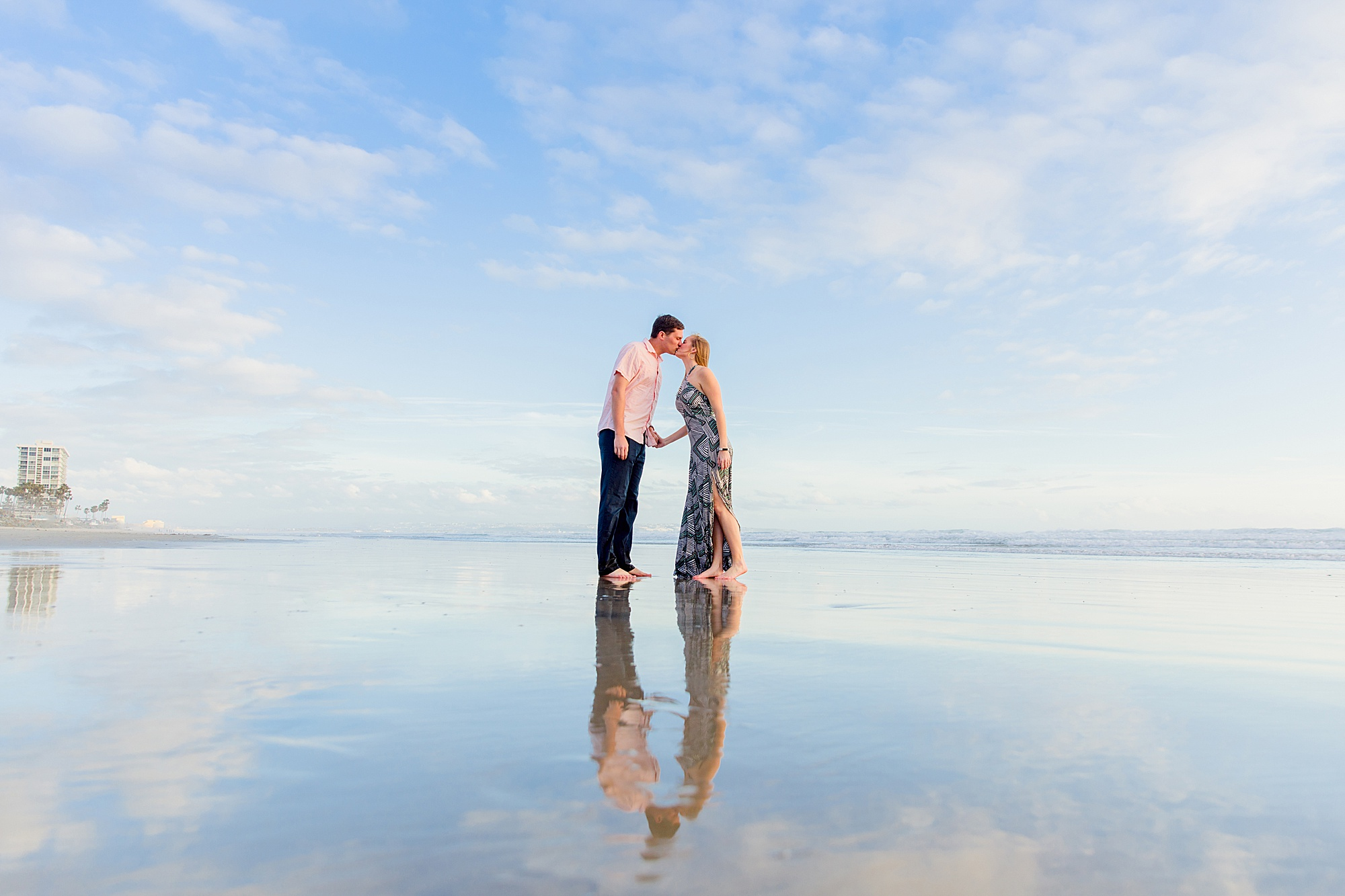Enagegement on the Beach | San Diego Beach Photography