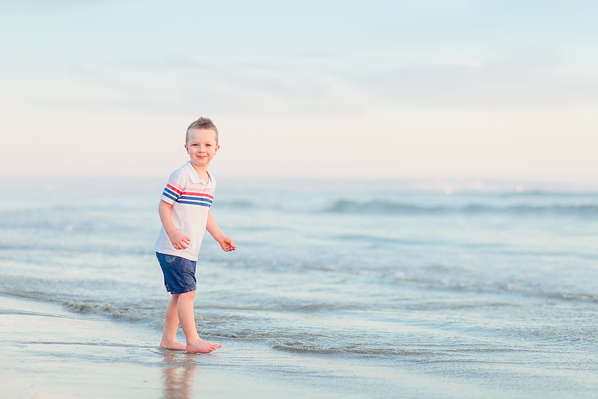 Boy on the Beach | Photography in San Diego
