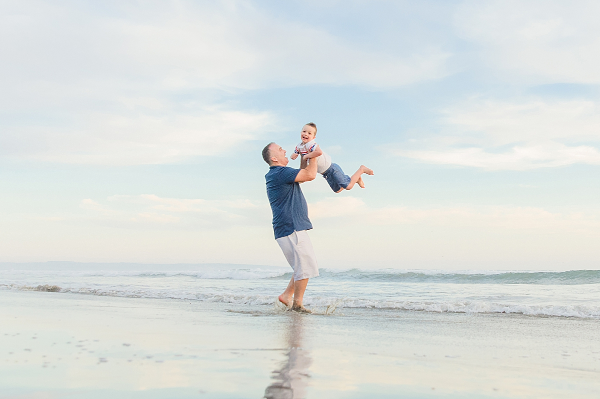 Dad and Boy | Family Photographer in San Diego