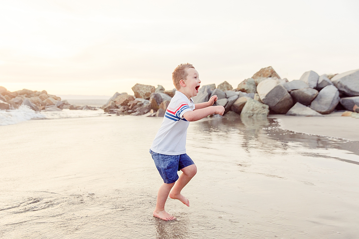 Boy on the Beach | Family Photographer in San Diego