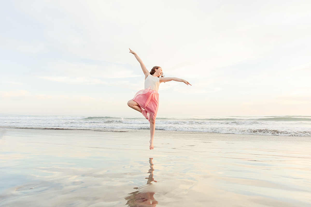 Dancing on the Beach | Family Photographer in San Diego