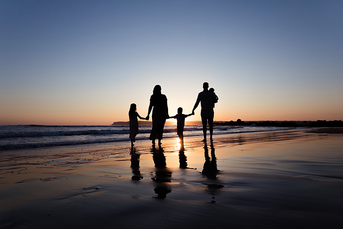 Silhouette | Family Photography San Diego