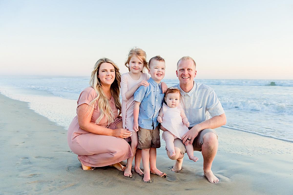 Photos on the Beach | Family Photography San Diego