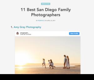 Best Photographers in San Diego