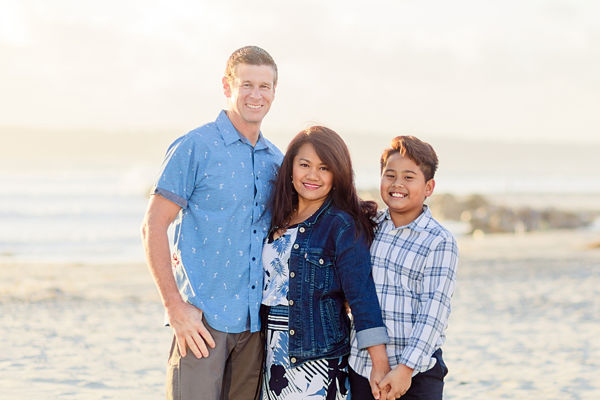 Family Photos on Coronado Beach