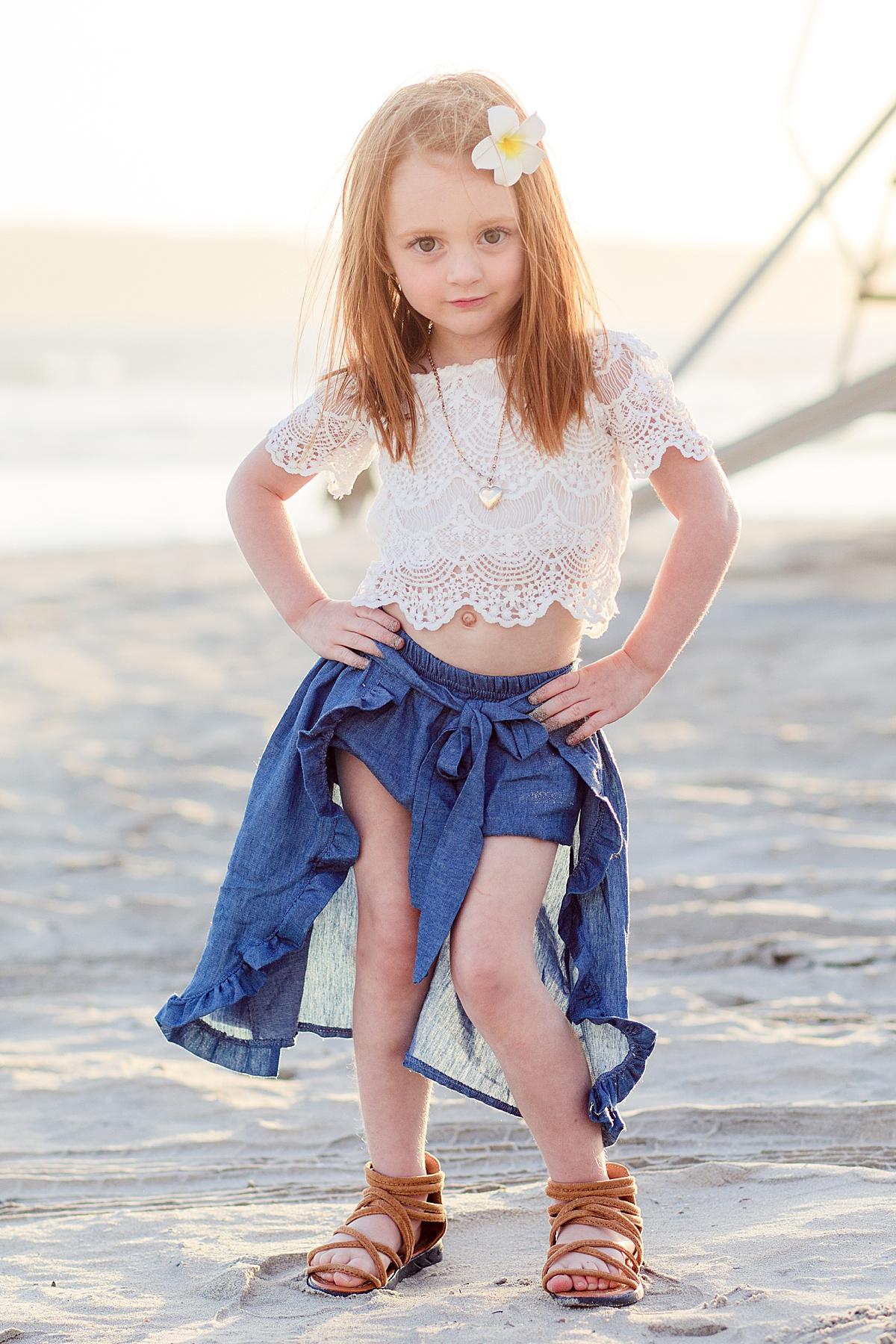 Model Child on Coronado