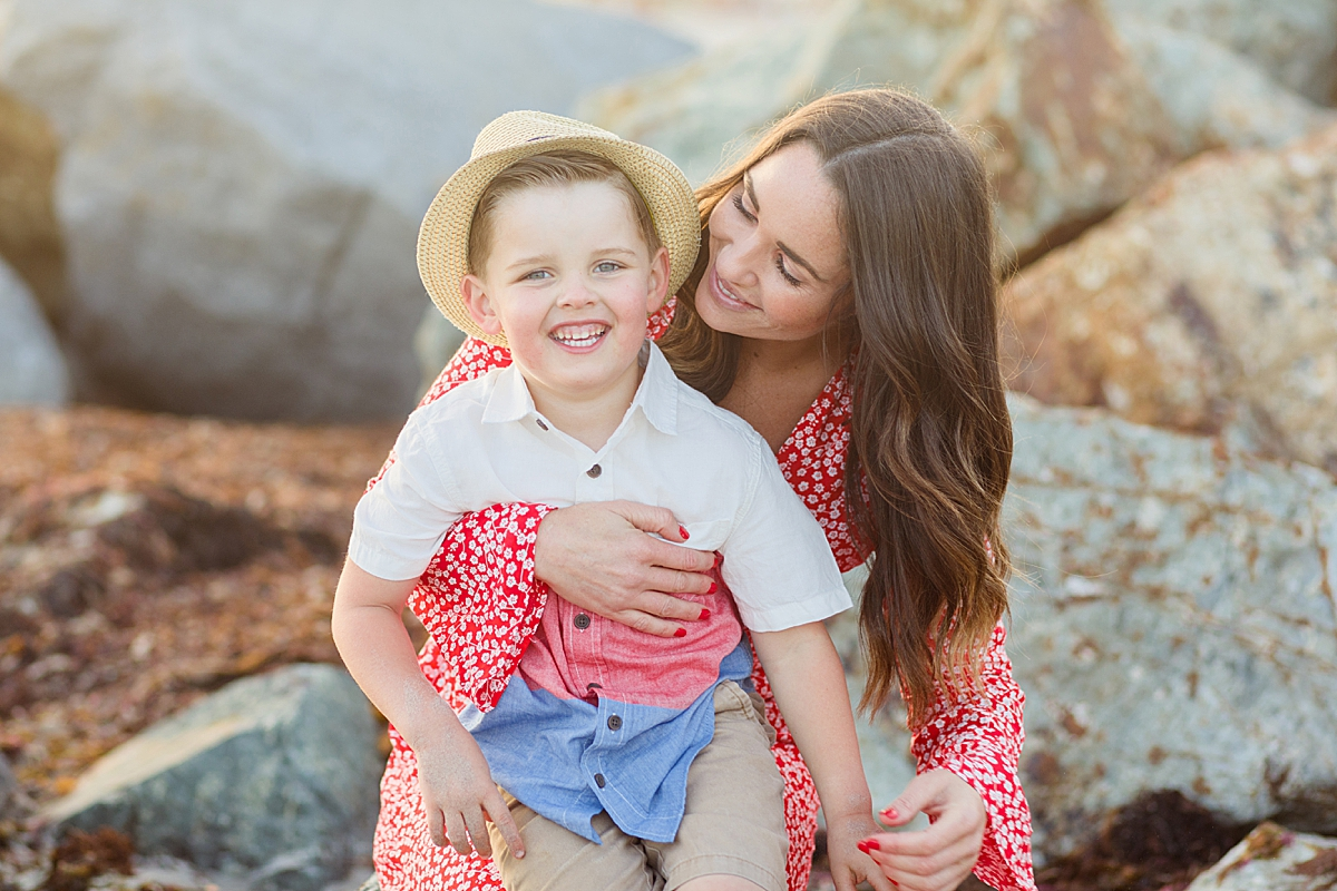 Mother and Son Photos in San Diego
