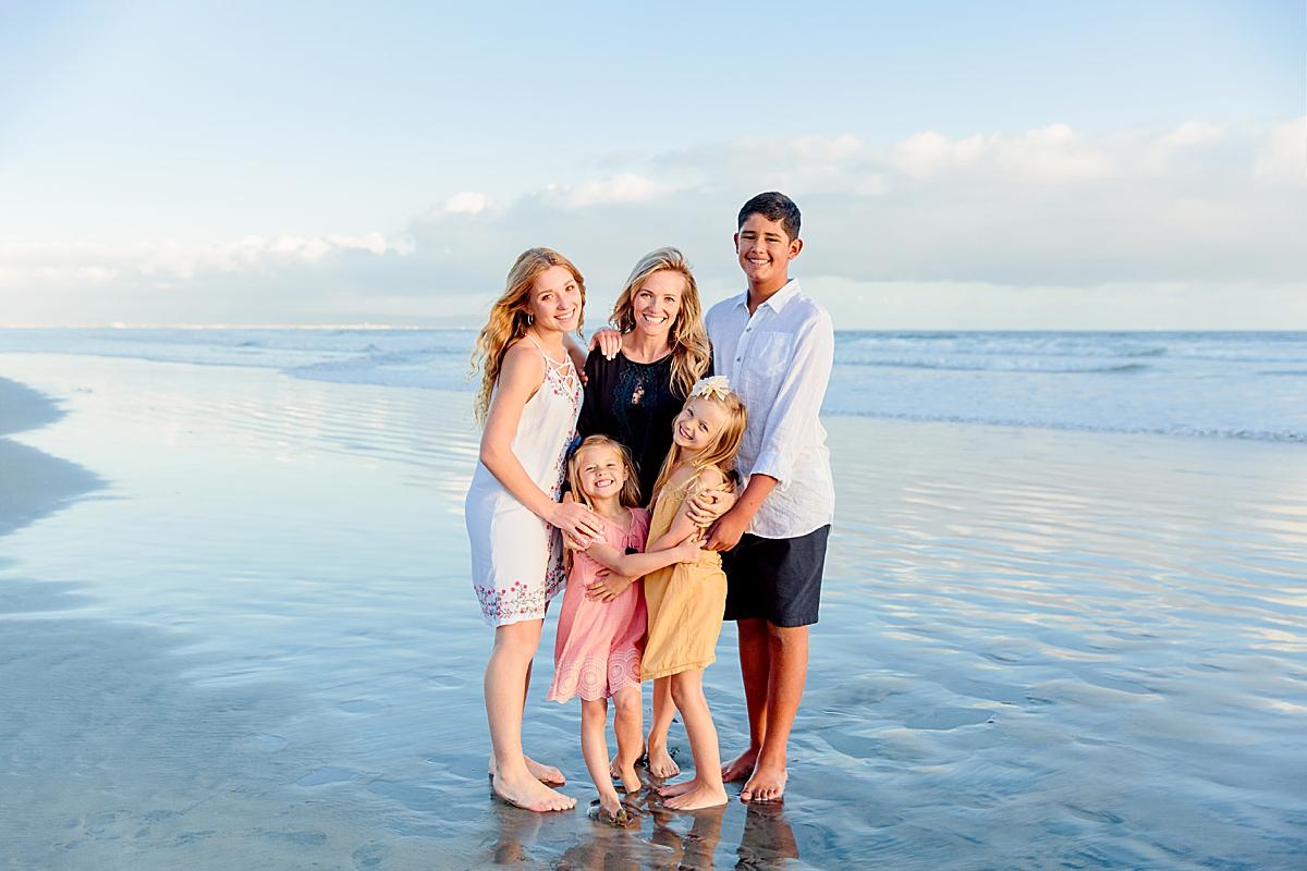 Family Photos at the Hotel del Coronado
