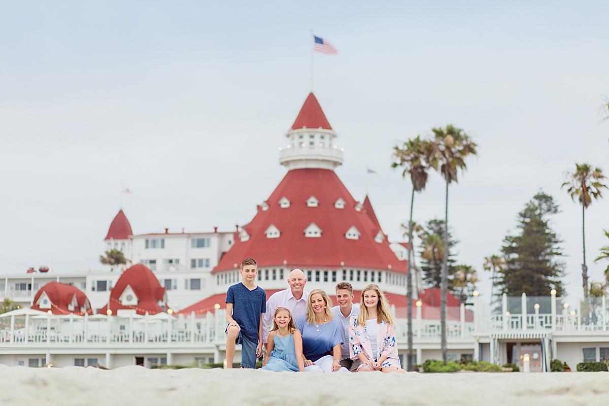 Photos of the Hotel del Coronado