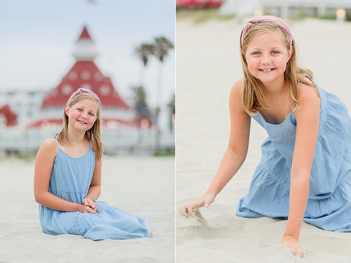 Child Photos at the Hotel del Coronado