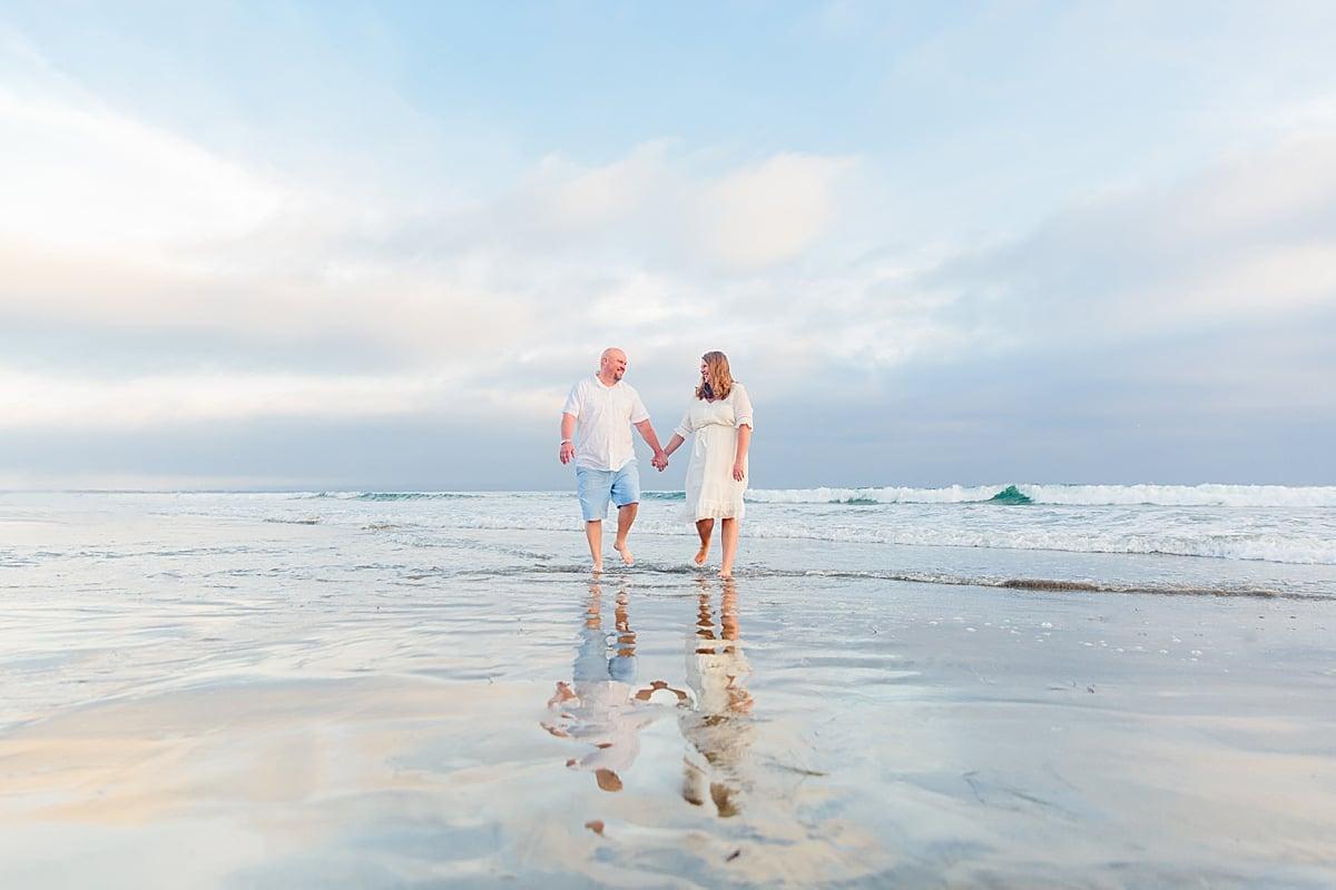 San Diego Vacation photos on the beach