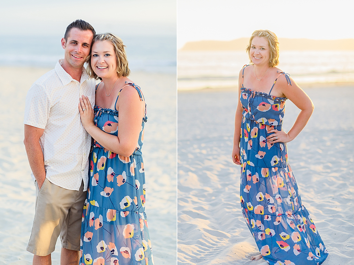 Engagement Photography in San Diego on Coronado Beach