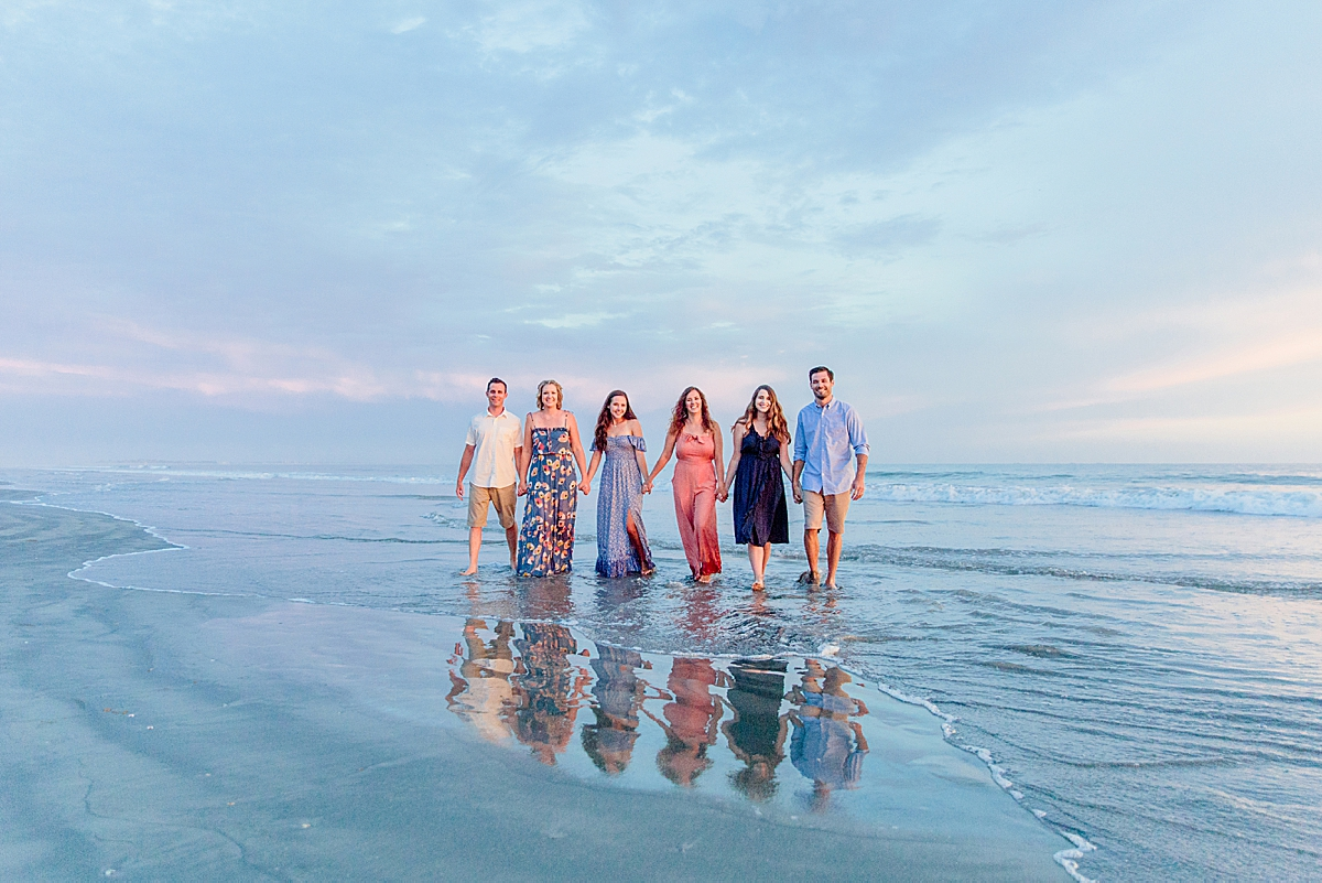 Extended Family Reflections by Professional Photographers in San Diego