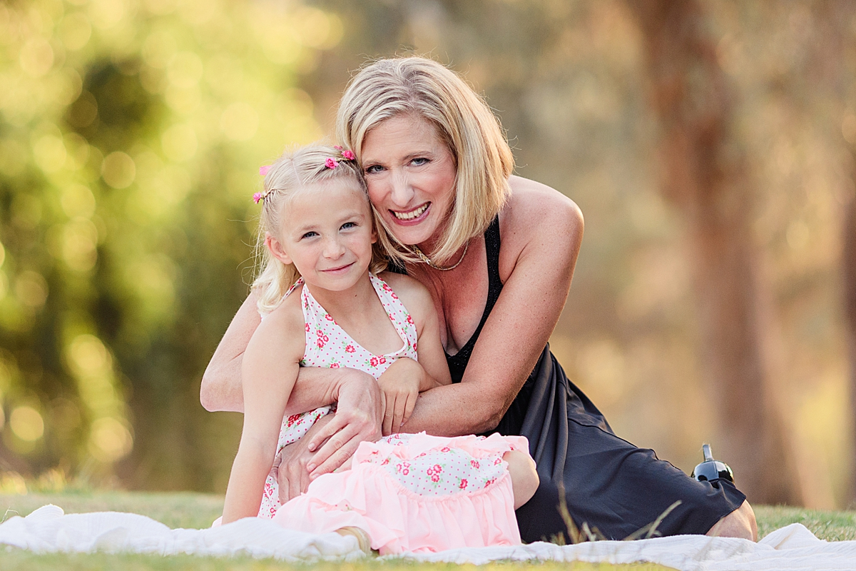 Mother and Daughter | Presidio Park San Diego