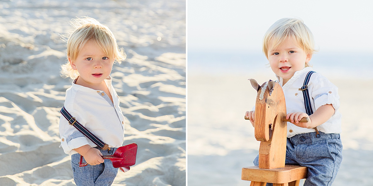 Mother and Son | San Diego Beach Photographer