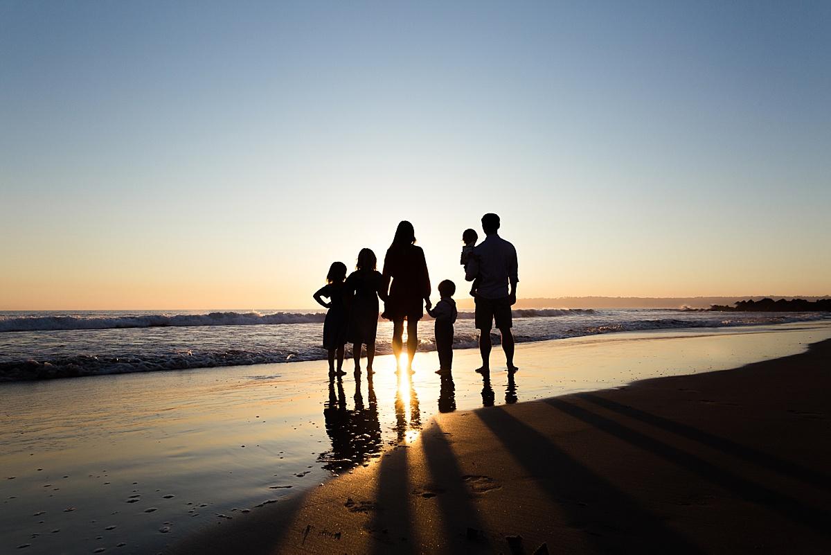Sunset Silhouette San Diego | San Diego Photographer
