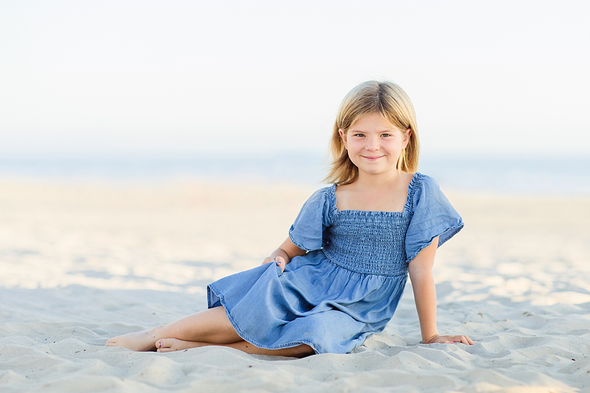 Little Girl Poses | San Diego Photographer