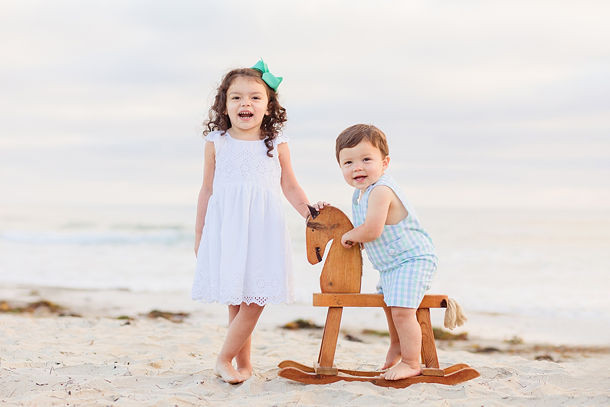 San Diego Photographers | Family Photos on the Beach