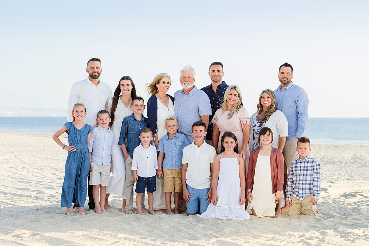 Extended Family Photographer | San Diego Coronado