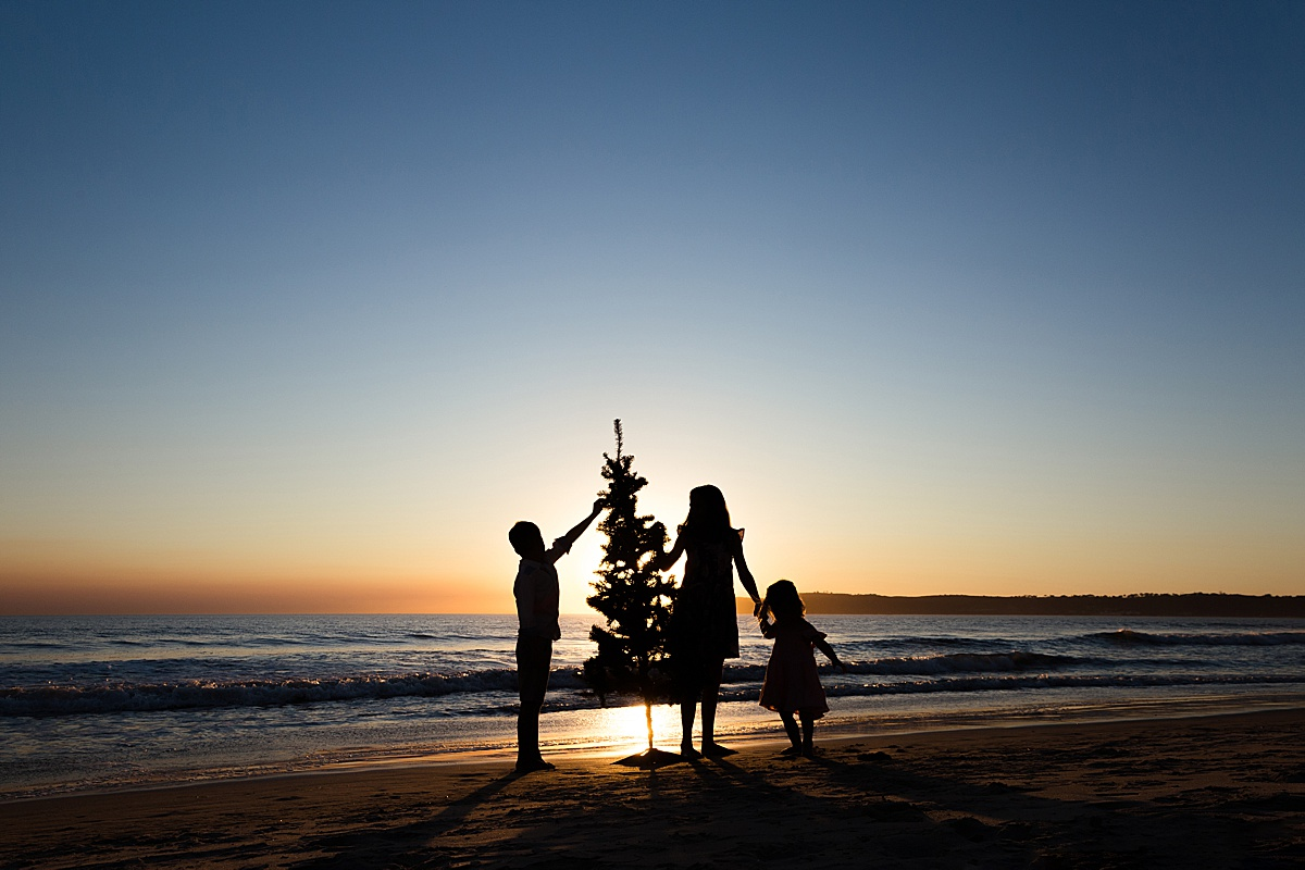 Christmas Photos on the Beach