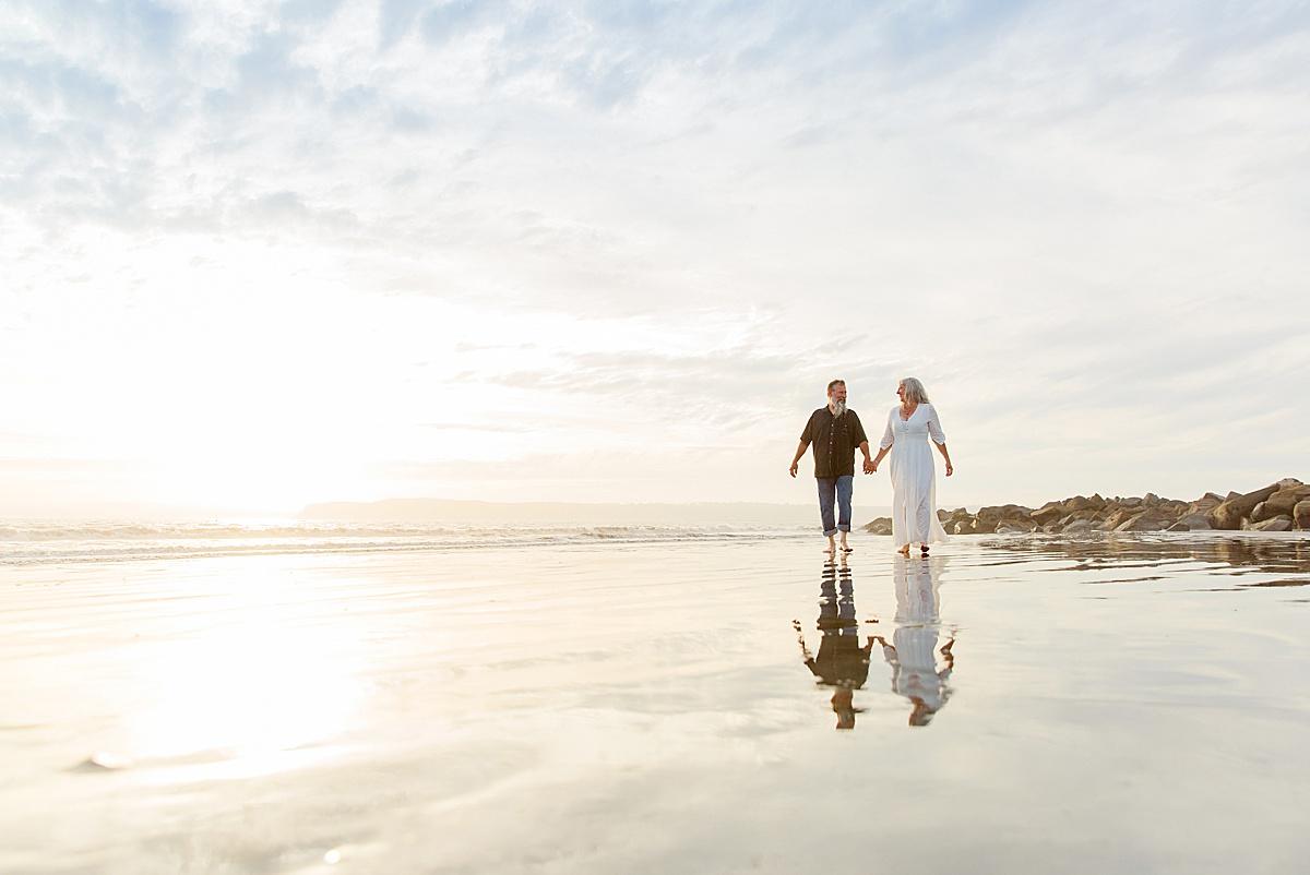 Coronado Vow Renewal | San Diego Beach Photography