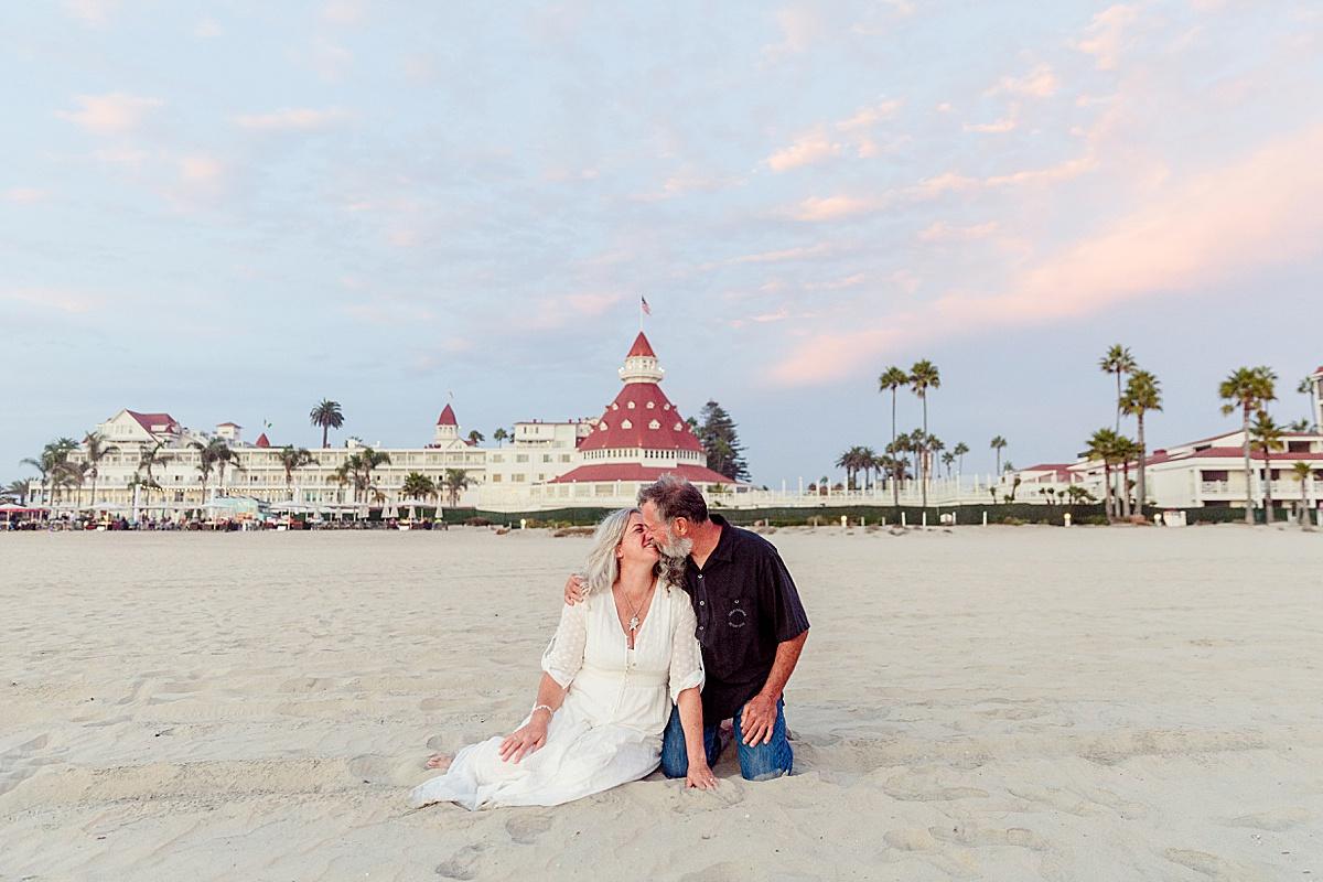 Reflection Shot | San Diego Elopement Vow Renewal