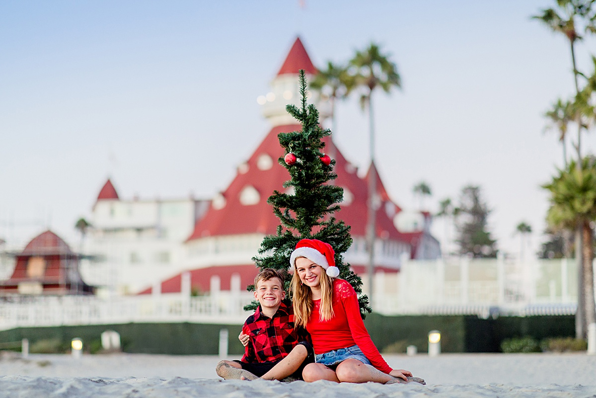 Christmas Photos on the Beach