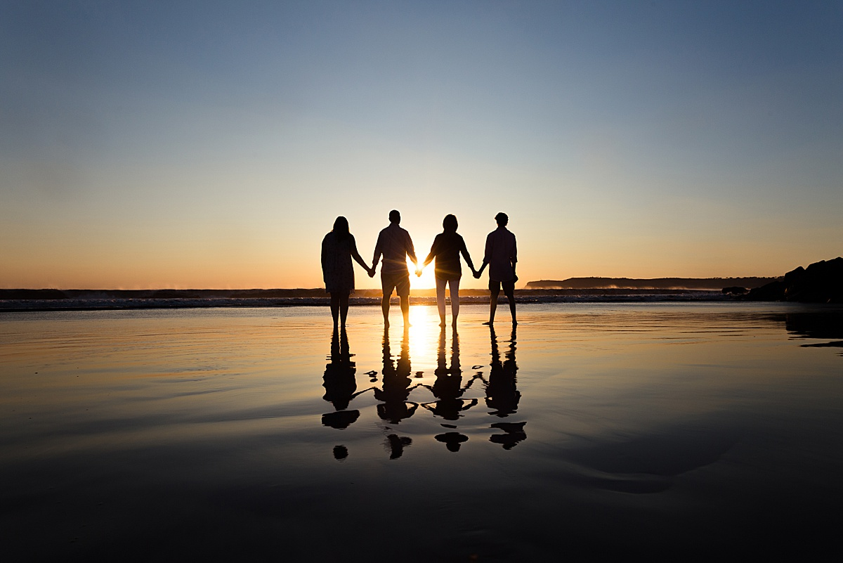 Silhouette Photo at the Hotel del Coronado | San Diego Beach Photos