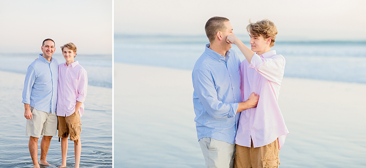 Father-Son Photos at the Hotel del Coronado | San Diego Beach Photos