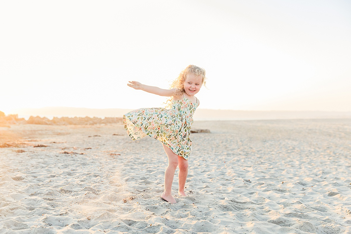 Twirling on the Beach | Little Girl Dresses