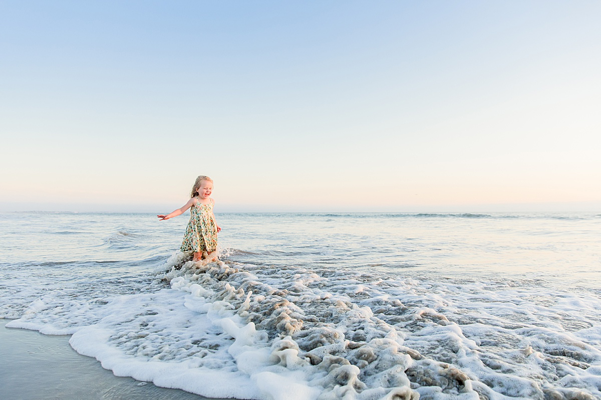 Child Playing on the Beach | Coronado Photographer