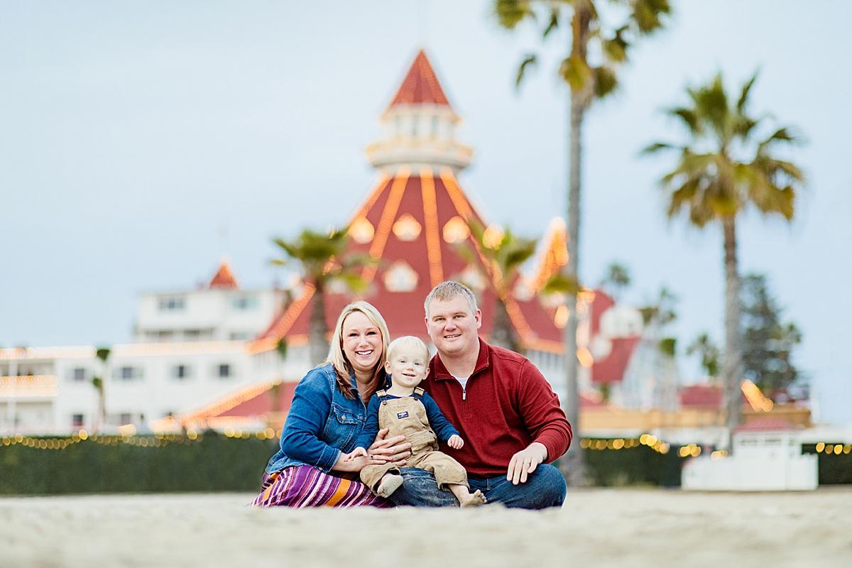 Hotel del Coronado Family Photos