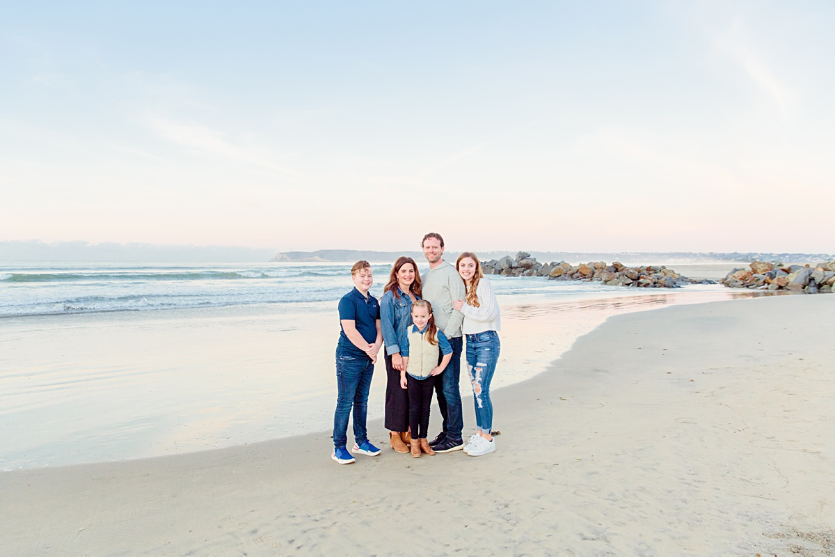 Morning Beach Photo Session | Family Photos