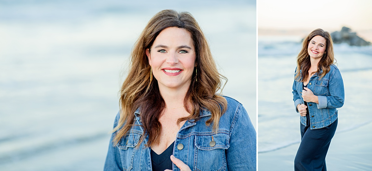 Headshots at the Beach | Professional Photographer