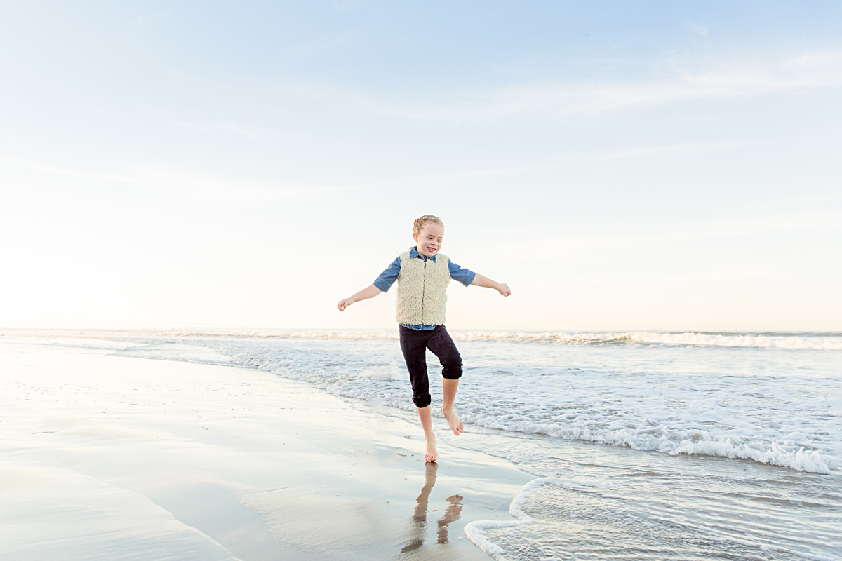 Running on the Shore | San Diego Photographer