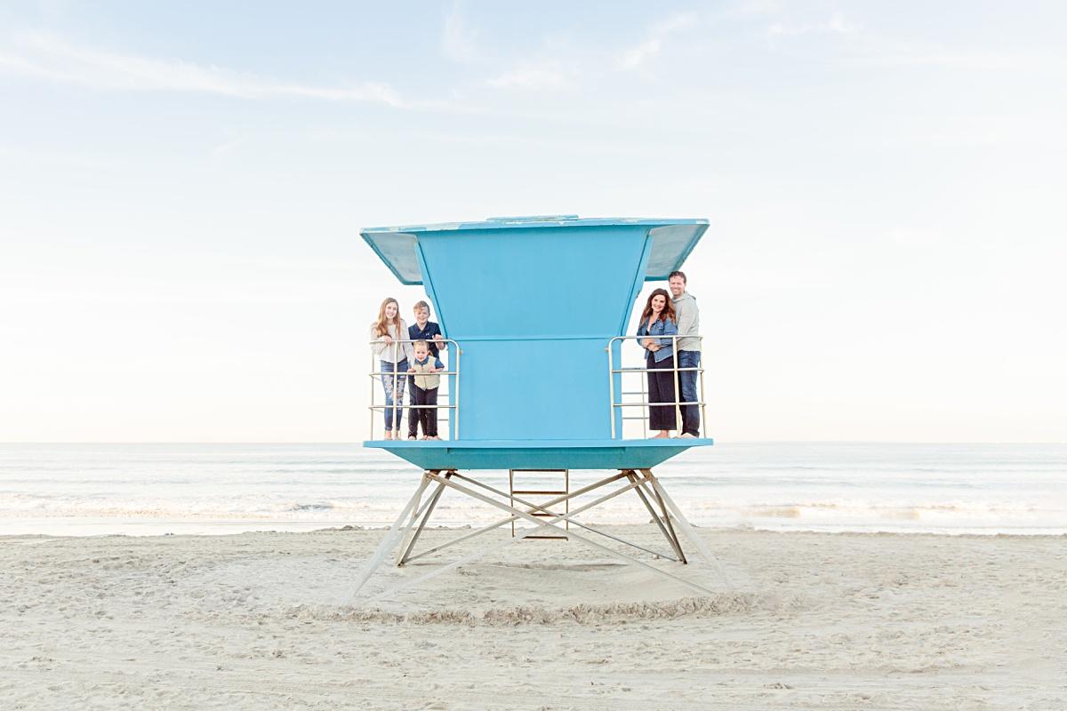 Lifeguard Tower on Coronado | Amy Gray Photography
