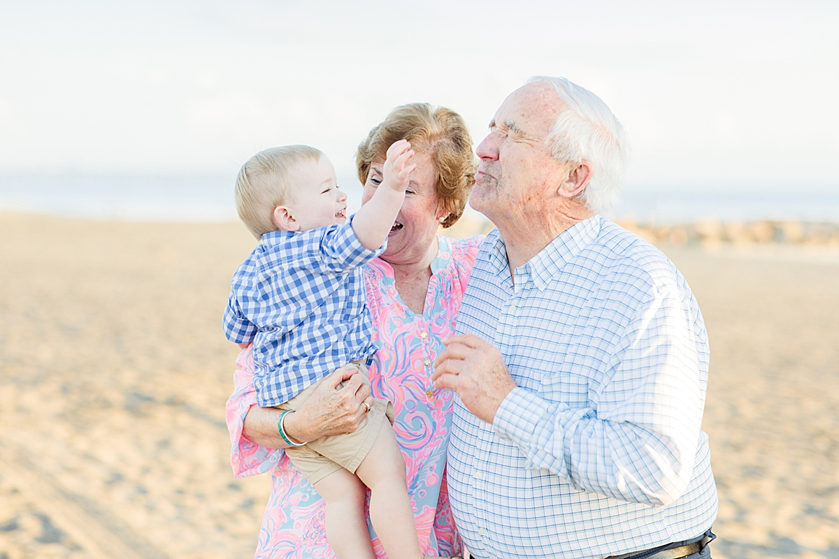 Grandparents on the Beach