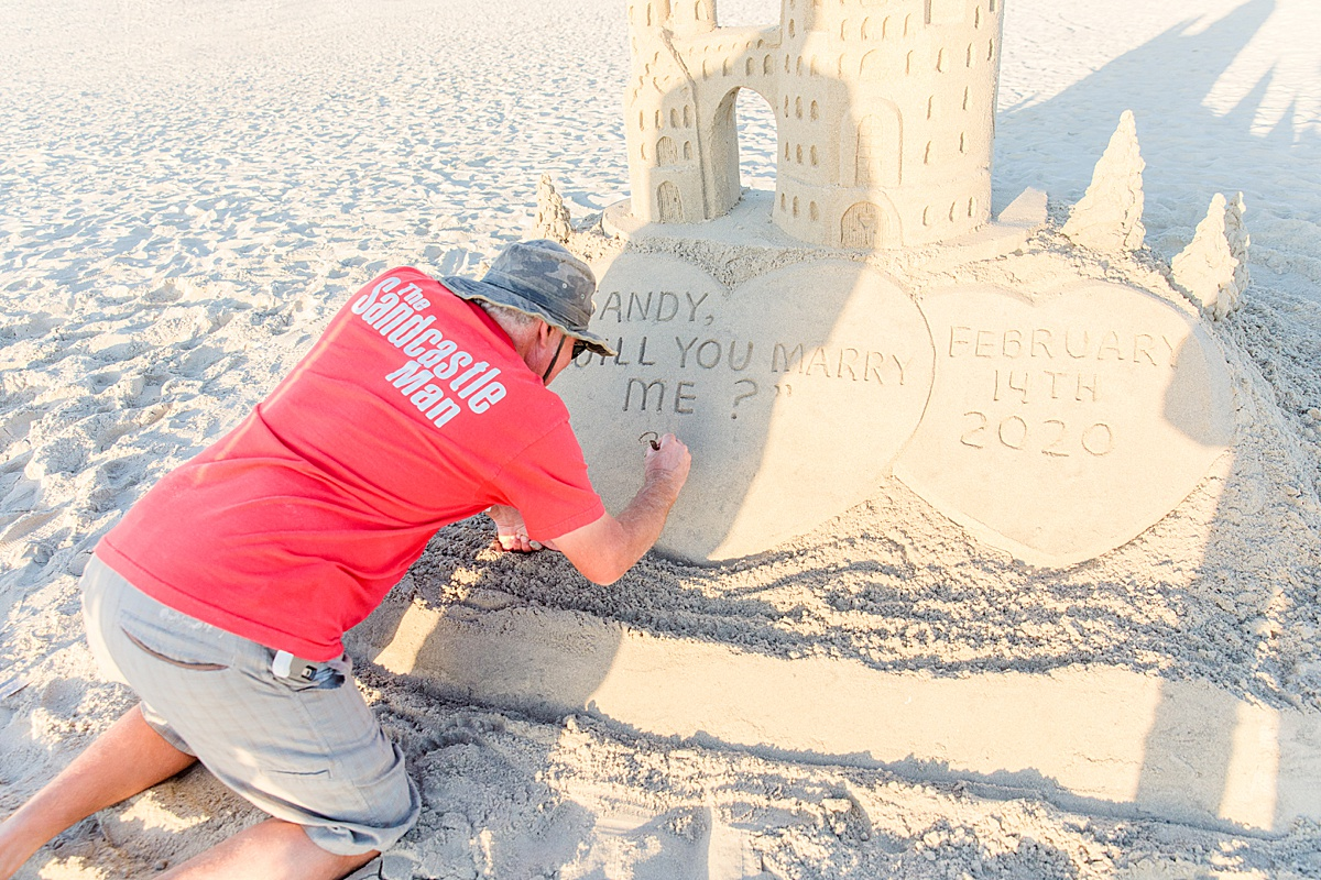 The Sandcastle Man San Diego Coronado