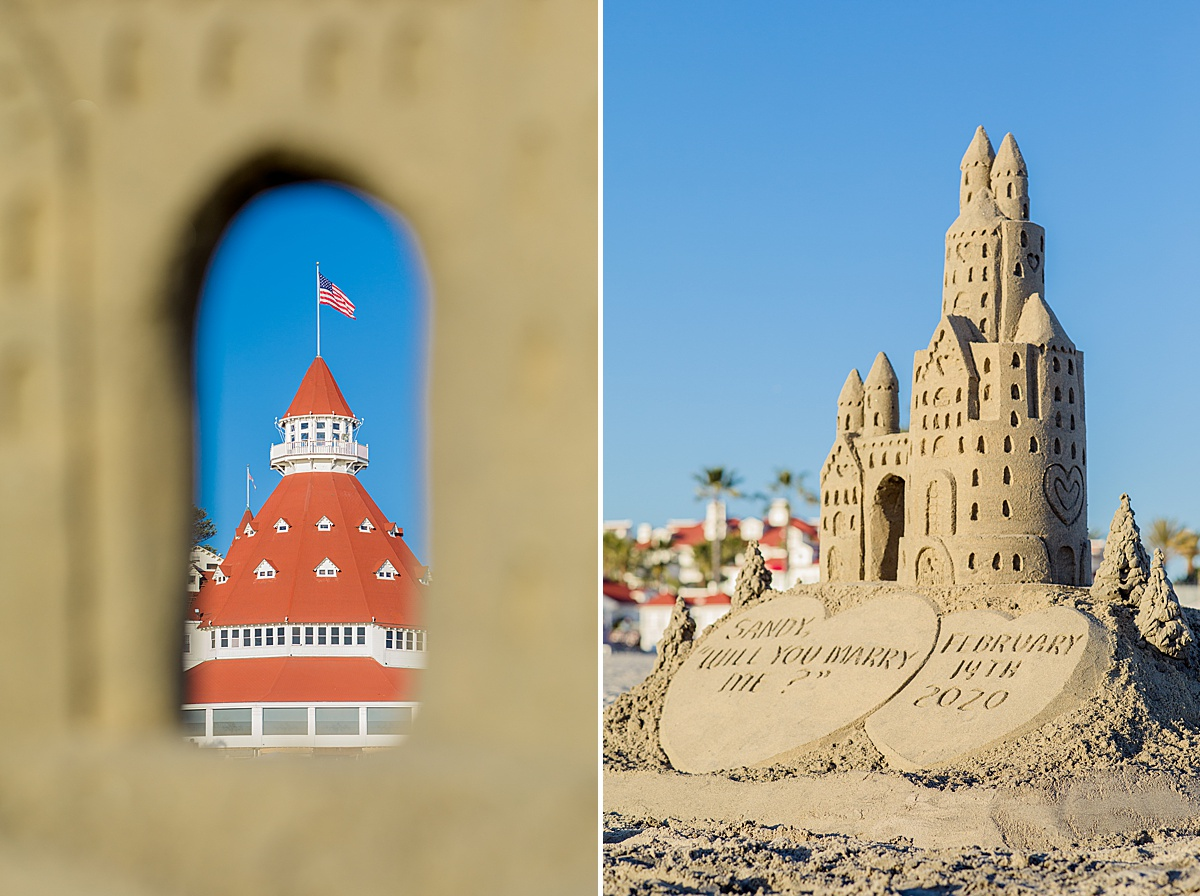 The Sandcastle Man Hotel del Coronado