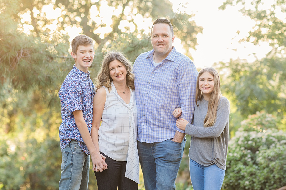 Family Photography in San Diego Vacation Rental